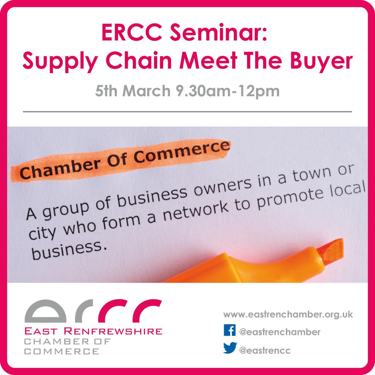 Supply Chain Meet the Buyer